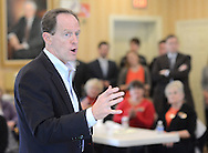 Senator Pat Toomery (R-Pa.) meets with supporters Monday, October 31, 2016 at Republican Committee Headquarters in Doylestown, Pennsylvania. (Photo by William Thomas Cain/Cain Images)