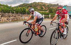 04.07.2017, Pöggstall, AUT, Ö-Tour, Österreich Radrundfahrt 2017, 2. Etappe von Wien nach Pöggstall (199,6km), im Bild Clemens Fankhauser (AUT, Tirol Cycling Team) // during the 2nd stage from Vienna to Pöggstall (199,6km) of 2017 Tour of Austria. Pöggstall, Austria on 2017/07/04. EXPA Pictures © 2017, PhotoCredit: EXPA/ JFK