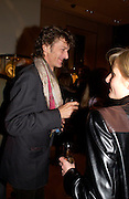 Matthew Carr. Book party for LAST VOYAGE OF THE VALENTINA by Santa Montefiore (Hodder & Stoughton) Asprey,  New Bond St. 12 April 2005. ONE TIME USE ONLY - DO NOT ARCHIVE  © Copyright Photograph by Dafydd Jones 66 Stockwell Park Rd. London SW9 0DA Tel 020 7733 0108 www.dafjones.com