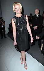 FEB 12 2013 Celebrities at New York Fashion Week A/W 13