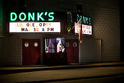 """Since 1975 Donk's theater in Matthews County Virginia has been featuring the 'Lil Old Opry' a live country music show featuring local acts and classic country music."""
