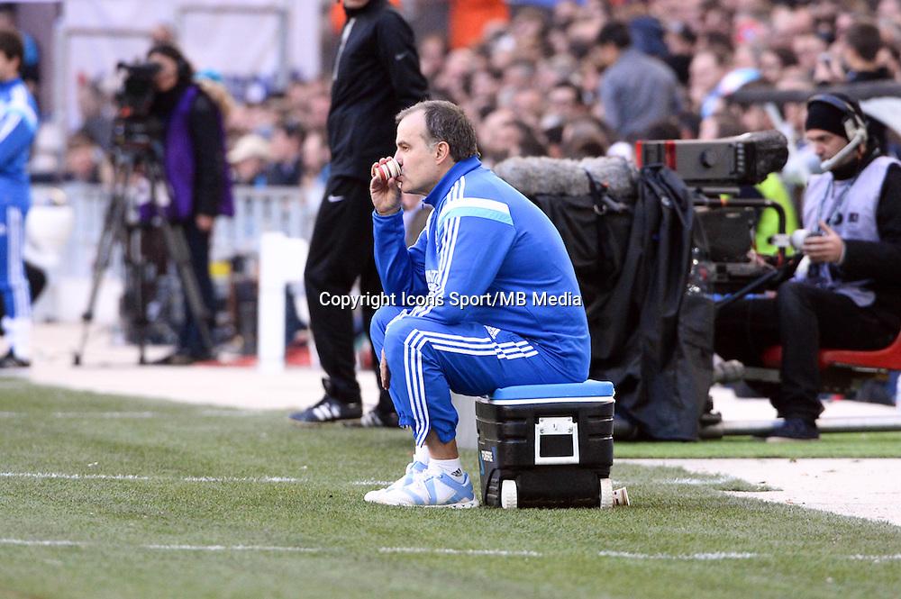 Marcelo BIELSA - 21.12.2014 - Marseille / Lille - 19eme journee de Ligue 1 -<br />Photo : Gaston Petrelli / Icon Sport