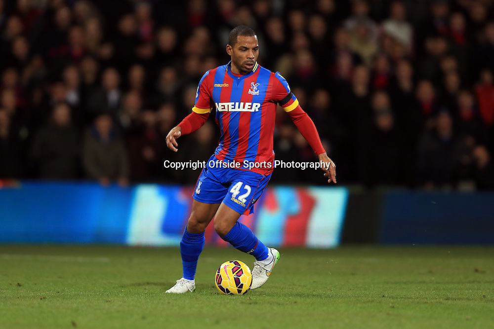 10 January 2015 - Barclays Premier League - Crystal Palace v Tottenham Hotspur - Jason Puncheon of Crystal Palace - Photo: Marc Atkins / Offside.