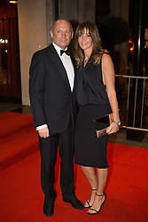 BT Sport Relief Ball Arrivals. (L-R) Ron Dennis and Lisa Dennis attend the BT Sport Relief Ball at The Grosvenor House Hotel. The Grosvenor House Hotel, London, United Kingdom. Wednesday, 26th March 2014. Picture by Daniel Leal-Olivas / i-Images