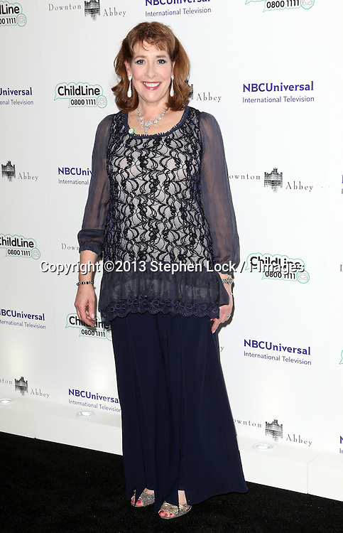 Phyllis Logan arriving at the Downton Abbey ChildLine Ball in London, Thursday, 24th October 2013. Picture by Stephen Lock / i-Images