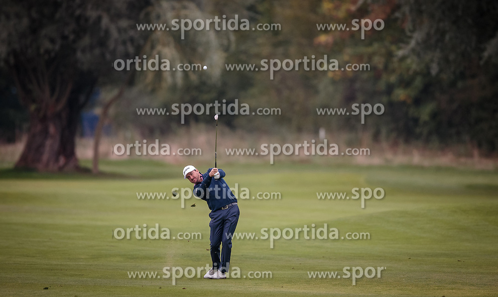 27.09.2015, Beckenbauer Golf Course, Bad Griesbach, GER, PGA European Tour, Porsche European Open, im Bild Graeme Mcdowell (NIR) // during the European Tour, Porsche European Open Golf Tournament at the Beckenbauer Golf Course in Bad Griesbach, Germany on 2015/09/27. EXPA Pictures © 2015, PhotoCredit: EXPA/ JFK