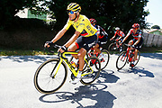 Greg Van Avermaet (BEL - BMC) yellow jersey during the 105th Tour de France 2018, Stage 6, Brest - Mur de Bretagne Guerledan (181km) in France on July 12th, 2018 - Photo Luca Bettini / BettiniPhoto / ProSportsImages / DPPI - photo Luca Bettini/BettiniPhoto©2018
