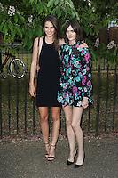 Charlotte Wiggins, Sam Rollinson, The Serpentine Gallery Summer Party, Kensington Gardens, London UK, 02 July 2015, Photo by Richard Goldschmidt