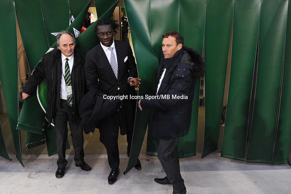 Bafetimbi GOMIS / Roland Romeyer - 21.12.2014 - Saint Etienne / Evian Thonon - 19eme journee de Ligue 1<br />Photo : Jean Paul Thomas / Icon Sport