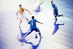 Fineo Araujo of Azerbaijan during futsal match between National teams of Ukraine and Portugal at Day 6 of UEFA Futsal EURO 2018, on February 4, 2018 in Arena Stozice, Ljubljana, Slovenia. Photo by Urban Urbanc / Sportida