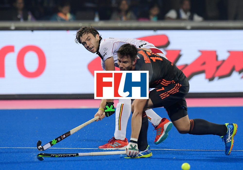 Odisha Men's Hockey World League Final Bhubaneswar 2017<br /> Match id:12<br /> Belgium v Netherlands<br /> Foto: Martijn Havenga (Ned) <br /> COPYRIGHT WORLDSPORTPICS FRANK UIJLENBROEK