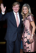 Amsterdam, 26-09-2015<br /> <br /> <br /> King Willem-Alexander and Queen Maxima, Princess Beatrix, Princess Mabel and Princess Irene and Princess Margriet and Pieter van Vollenhoven and Princess Laurentien and Prince Constantijn and Prince Floris and Princess Annette and Prince Bernhard attend the final celebrations of 200 years Kingdom of the Netherlands in Amsterdam<br /> <br /> Photo: Royalportraits Europe/Bernard Ruebsamen