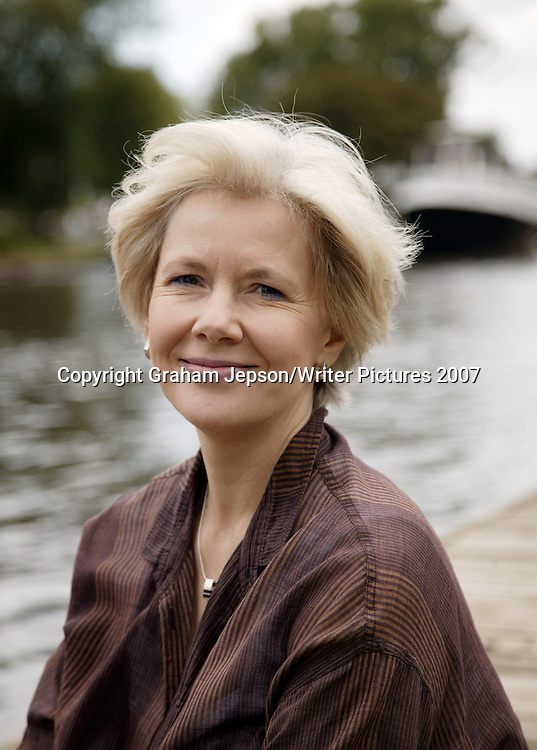 Author Mary Lawson, pictured by the Thames in Kingston, Surrey<br />