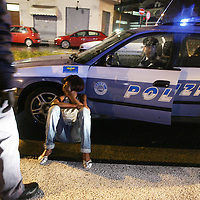 Torino, controlli ed interventi notturni della Polizia di Stato  fermo di una prostituta