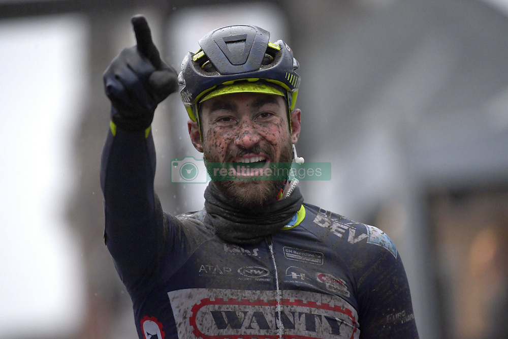 March 1, 2017 - Dour, Belgique - DOUR, BELGIUM - MARCH 1 : VAN KEIRSBULCK Guillaume (BEL) Rider of Wanty - Groupe Gobert during the 49th Grand Prix Samyn cycling race with start in Quaregnon and finish in Dour on March 01, 2017 in Dour, Belgium, 1/03/2017 ( Photo by Vincent Kalut / Photonews. (Credit Image: © Panoramic via ZUMA Press)