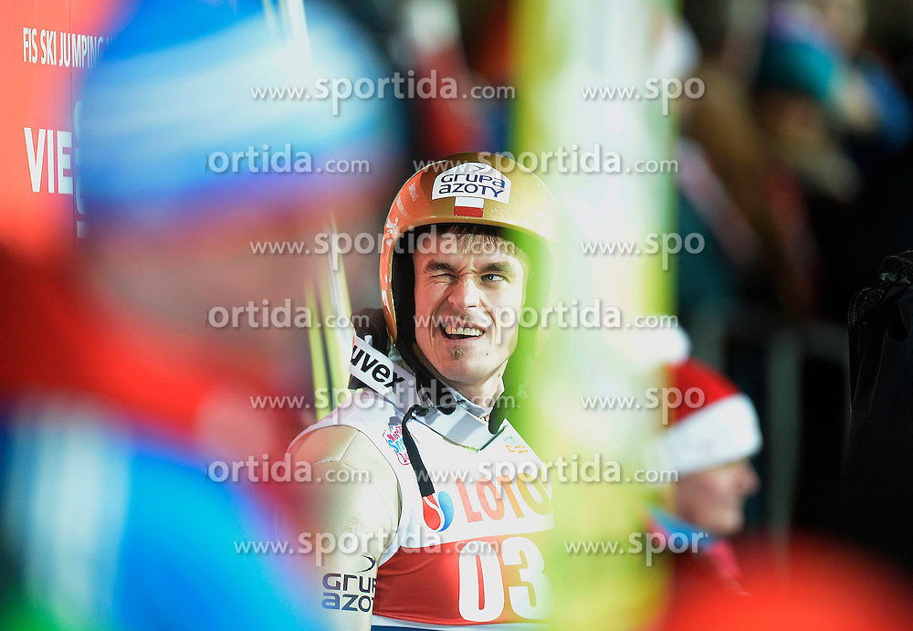 17.01.2015, Wielka Krokiew, Zakopane, POL, FIS Weltcup Ski Sprung, Zakopane, Herren, Teamspringen, im Bild Piotr Zyla // during mens Large Hill Team competition of FIS Ski Jumping world cup at the Wielka Krokiew in Zakopane, Poland on 2015/01/17. EXPA Pictures &copy; 2015, PhotoCredit: EXPA/ Newspix/ Irek Dorozanski<br /> <br /> *****ATTENTION - for AUT, SLO, CRO, SRB, BIH, MAZ, TUR, SUI, SWE only*****
