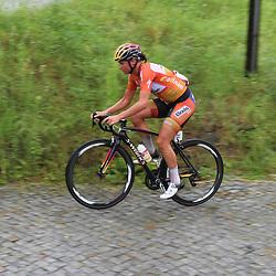 21-07-2016: Wielrennen: Thueringen Rundfahrt vrouwen: Gera <br />GERA (DLD) wielrennen  <br />Chantal BLaak zsat mee in een van de vele kopgroepen