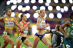 Lynsey Sharp of Great Britain in action - Mandatory byline: Patrick Khachfe/JMP - 07966 386802 - 11/08/2017 - ATHLETICS - London Stadium - London, England - Women's 800m Semi-Final - IAAF World Championships