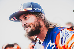 Toby Price (AUS) of Red Bull KTM Factory Team at the finish line after he wins the Rally Dakar 2019 Lima, Peru on January 17, 2019. // Flavien Duhamel/Red Bull Content Pool // AP-1Y5HCGMMH2111 // Usage for editorial use only // Please go to www.redbullcontentpool.com for further information. //