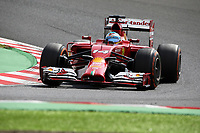 14 ALONSO Fernando (Spa) Ferrari F14T action during the 2014 Formula One World Championship, Japan Grand Prix from October 3rd to 5th 2014 in Suzuka. Photo Clement Marin / DPPI