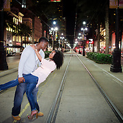 Dustin & Janelle Engagement Photo Session - New Orleans Frech Quarter & City Park- 1216 STUDIO Photography | Summer 2013