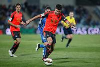 Real Sociedad´s Agirretxe during 2014-15 La Liga match at Alfonso Perez Coliseum stadium in Madrid, Spain. March 16, 2015. (ALTERPHOTOS/Victor Blanco)
