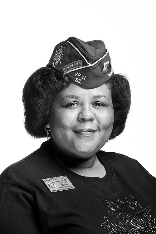 Michelle L. Love<br /> Air Force<br /> E-5<br /> Personnel Technician<br /> Dec. 1991 - Oct. 2002<br /> Korea<br /> <br /> Veterans Portrait Project<br /> St. Louis, MO