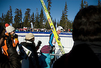 World Cup Ski Jumping competition at Whistler Olympic Park on Sunday January 25, 2009