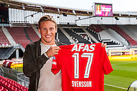 ALKMAAR - 30-01-2017, Johas Svensson, contract , AFAS Stadion,