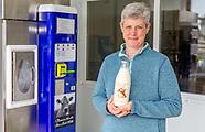 Classic milk bottles