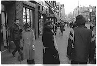 Broadway, NYC, Street photography. 1980