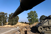 Israel, Golan Heights, The 7th Armored Brigade Memorial site
