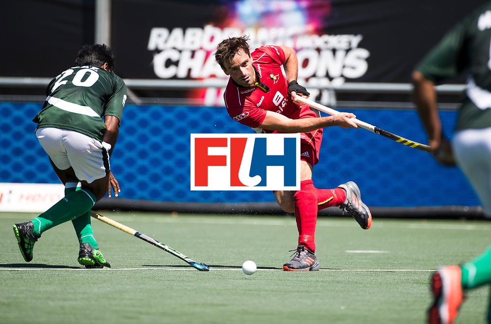 BREDA -  Sebastien Dockier (Bel) .  Belgie-Pakistan om de 5e plaats COPYRIGHT  KOEN SUYK