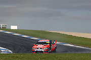 Craig Lowndes and Jamie Whincup driving the TeamVodafone falcon at the Phillip Island L&H 500 ~ V8 Supercar Series Round 9 at the Phillip Island Grand Prix Circuit, Victoria Australia on Sunday 14th September 2008. Photo: Clay Cross/PHOTOSPORT