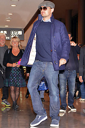 Actor Leonardo Dicaprio arrives at Narita International Airport Japan,  March 1, 2013. Photo by Imago / i-Images...UK ONLY