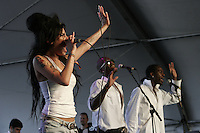 Amy Winehouse performing at the  Coachella Valley Music and Arts Festival at the Empire Polo Fields  2007 in Indio California on April 27, 2007.