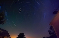 Vermont Sky, 1 hour 25 minute exposure