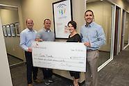 CoBiz Cares Check Presentation to Care Fund