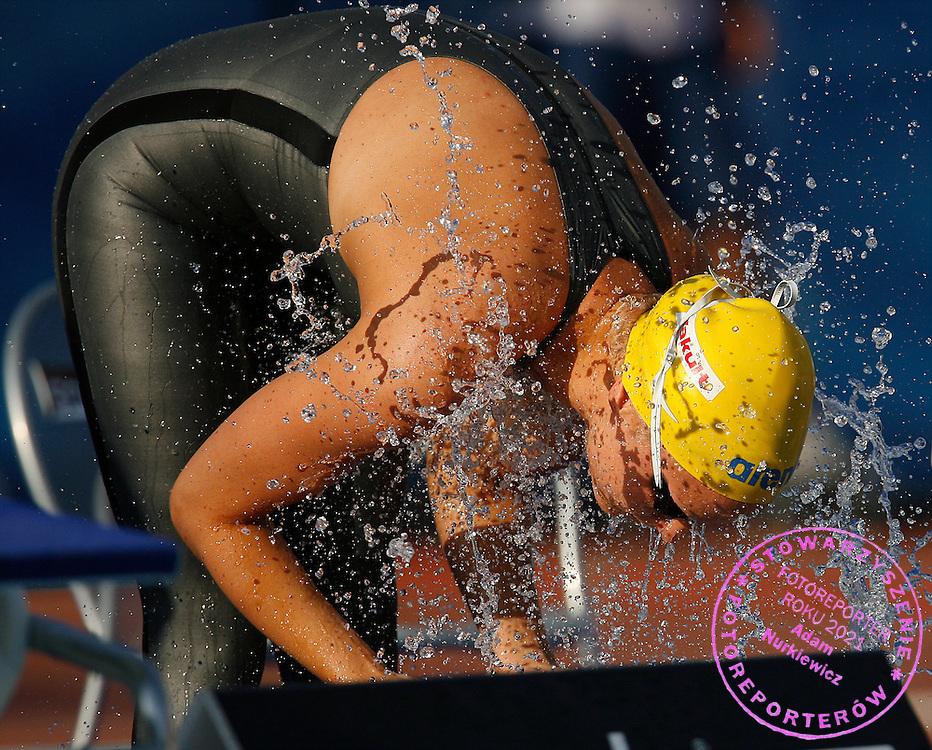 ROME 31/07/2009.13th Fina World Championships.Women's 50m Butterfly - Semifinal.Sarah Sjostrom of Sweden ..photo: Piotr Hawalej / WROFOTO
