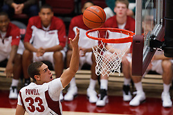 December 15, 2010; Stanford, CA, USA;  Stanford Cardinal forward Dwight Powell (33) shoots against the North Carolina A&T Aggies during the second half at Maples Pavilion.  Stanford defeated North Carolina A&T 76-59.