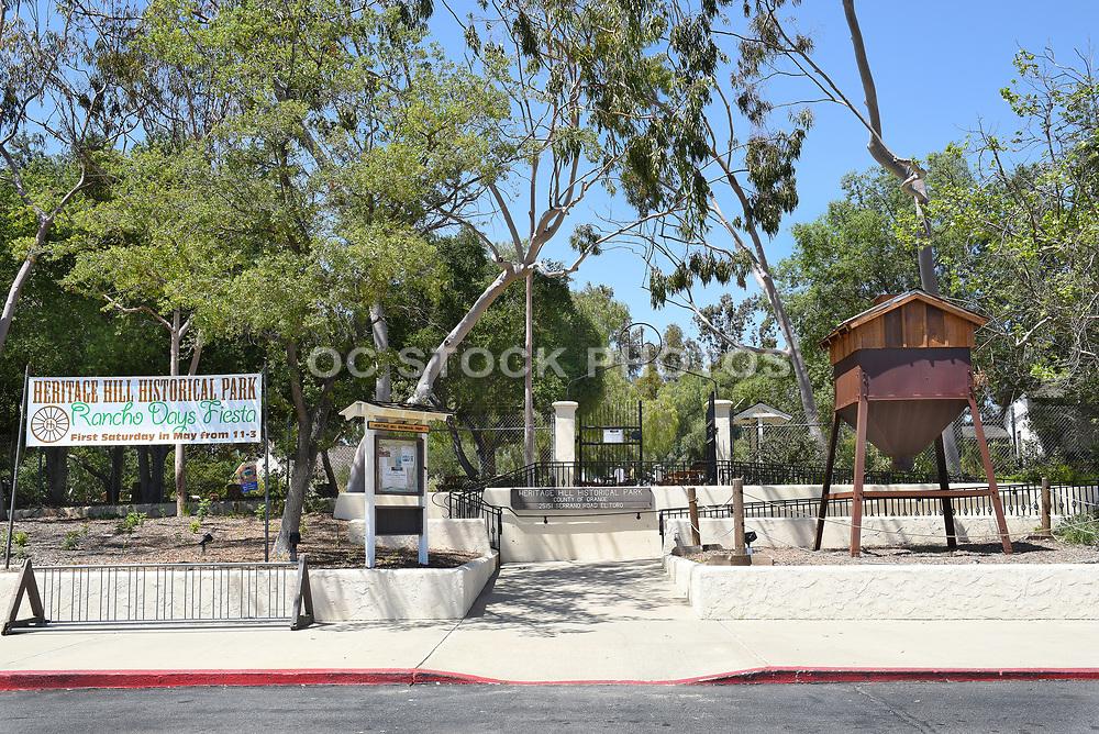 Heritage Hill Historical Park Entrance