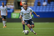 Mark Davies (Bolton Wanderers) runs with the ball during the Pre-Season Friendly match between Bolton Wanderers and Preston North End at the Macron Stadium, Bolton, England on 30 July 2016. Photo by Mark P Doherty.