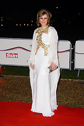 Carol Vorderman attends The Sun Military Awards 2013. National Maritime Museum, London, United Kingdom. Wednesday, 11th December 2013. Picture by Chris Joseph / i-Images