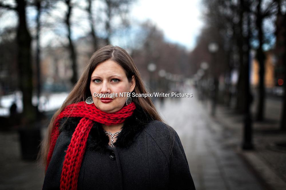 Oslo  20120229.<br /> Forfatter Carolina De Robertis gir ut ny bok i Norge. Den heter &quot;Perla&quot;.<br /> Foto: Anette Karlsen / Scanpix<br /> <br /> NTB Scanpix/Writer Pictures<br /> <br /> WORLD RIGHTS, DIRECT SALES ONLY, NO AGENCY