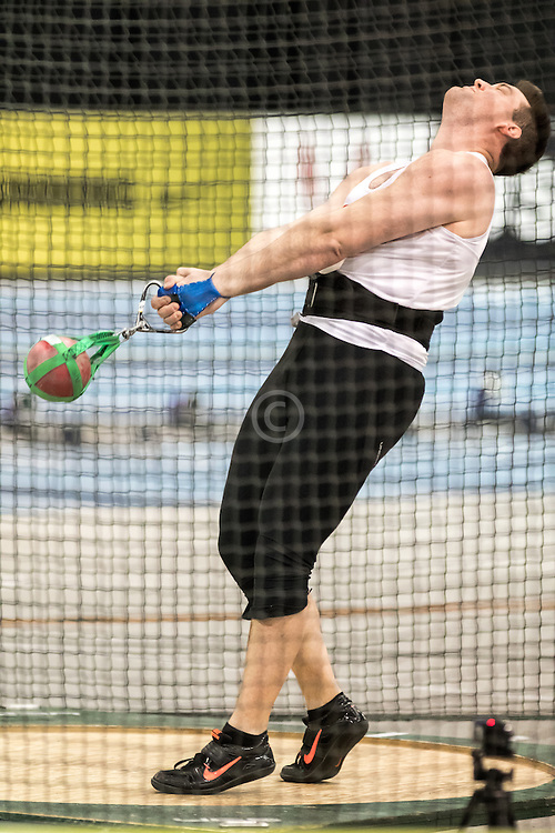 USATF Indoor Track & Field Championships: mens weight throw, Paul Wagner Jr, Shore AC
