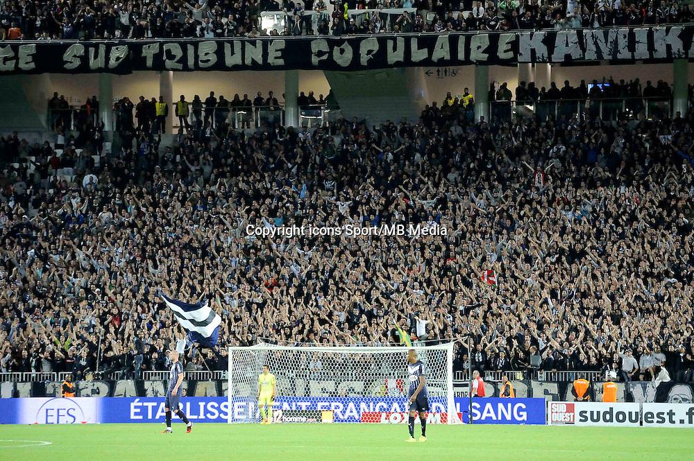 Nouveau Stade Bordeaux - supporters Bordeaux   - 23.05.2015 - Bordeaux / Montpellier - 38eme journee Ligue 1<br /> Photo : Nolwenn Le Gouic / Icon Sport