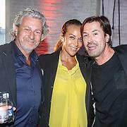 NLD/Rotterdam/20150616 - Modeshow Labee a Porter, dj Erik E met Mark Teurlings en partner Yvette