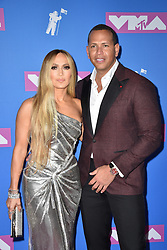 Jennifer Lopez and Alex Rodriguez attend the 2018 MTV Video Music Awards at Radio City Music Hall on August 20, 2018 in New York City, NY, USA. Photo by Lionel Hahn/ABACAPRESS.COM