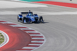 February 12, 2019 - U.S. - AUSTIN, TX - FEBRUARY 12: RC Enerson (23) in a Chevrolet powered Dallara IR-12 at turn 2 during the IndyCar Spring Training held February 11-13, 2019 at Circuit of the Americas in Austin, TX. (Photo by Allan Hamilton/Icon Sportswire) (Credit Image: © Allan Hamilton/Icon SMI via ZUMA Press)