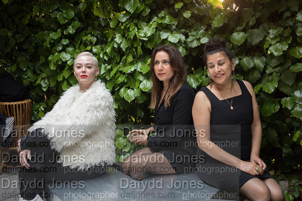 ROSE MCGOWAN, FAIZA BUTT, SAMIRA ABBASSY,  She Persists, Palazzo Benzon, Venice ,  10 May 2019